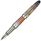 Diplomat Aero Fountain Pen Flame