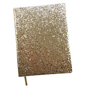 Dotty About Paper Time to Shine Journal Gold Glitter
