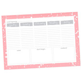 Dotty About Paper Desk Planner Make Your Mark
