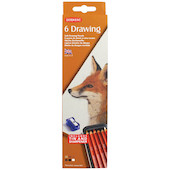 Derwent Drawing Pencil Tin of 6