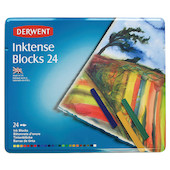Derwent Inktense Colour Block Tin of 24