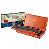 Derwent Artists Pencil Wooden Box of 120