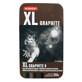 Derwent XL Graphite Tin of 6