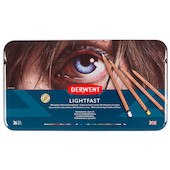 Derwent Lightfast Coloured Pencils Set 1 Tin of 36