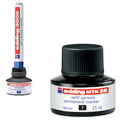edding MTK25 Permanent Ink Refill Station 25ml