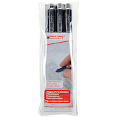 edding 1800 profipen Drawing Pen Set of 3 Assorted