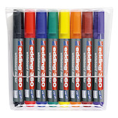 edding 360 Whiteboard Marker Set of 8 Assorted