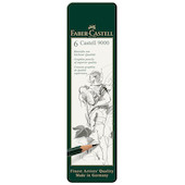 Faber-Castell 9000 Pencil Tin of 6