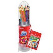 Faber-Castell Colour Grip Metal Rocket Set