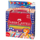 Faber-Castell Jumbo Grip Circus Colouring Set