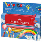Faber-Castell Colour Grip Drawing Set