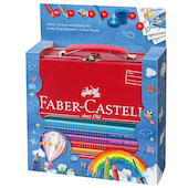 Faber-Castell Jumbo Grip Colouring and Painting Set