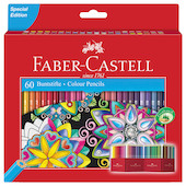 Faber-Castell Classic Colour Pencils Set of 60