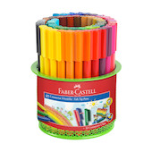 Faber-Castell Connector Pen Mesh Box of 45