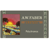Faber-Castell Polychromos Colouring Pencil 111th Anniversary Set of 36