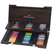 Faber-Castell Pitt Artist Pen Wooden Box of 90 Pens