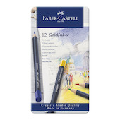 Faber-Castell Goldfaber Colour Pencils Tin of 12