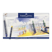 Faber-Castell Goldfaber Colour Pencils Tin of 36