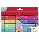 Faber-Castell Textliner 46 Pastel Highlighter Promotional Set of 8