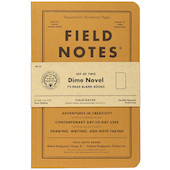 Field Notes Dime Novel Pocket Notebook Limited Edition Set of 2