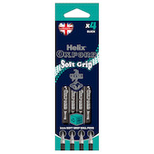 Helix Oxford Soft Grip Pen Set of 4 Black