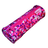 Helix Oxford Camo Pencil Case Pink