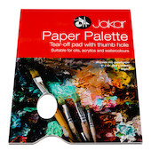 Jakar Paper Palette with 36 Sheets