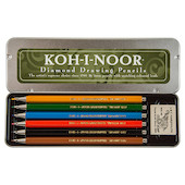 Koh-I-Noor Versatil 5217 Clutch Pencils Set of 6