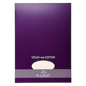 G Lalo Velin Pur Coton Writing Pad A4