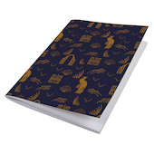 G Lalo 100 Years Sewn Spine Notebook A5 Blue