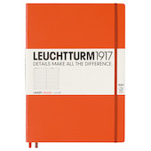 Leuchtturm1917 Hardcover Notebook Master Slim Orange