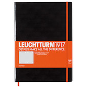 Leuchtturm1917 Whitelines Link Notebook Master Slim Black