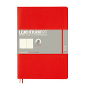 Leuchtturm1917 Softcover Notebook B5 Red