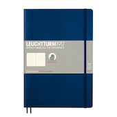 Leuchtturm1917 Softcover Notebook B5 Navy