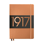 Leuchtturm1917 Hardcover Notebook Medium 1917 Metallic Edition Copper
