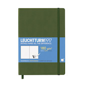 Leuchtturm1917 Sketchbook Medium Army