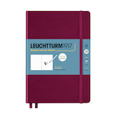 Leuchtturm1917 Sketchbook Medium Port Red