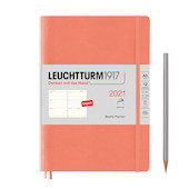 Leuchtturm1917 Weekly Planner 2021 Softcover Medium Bellini