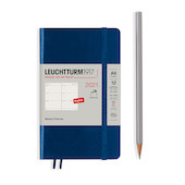 Leuchtturm1917 Weekly Planner 2021 Softcover Pocket Navy
