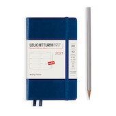 Leuchtturm1917 Weekly Planner 2021 Hardcover Pocket Navy