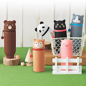 Lihit Lab Stand-Up Silicone Pencil Case PuniLabo