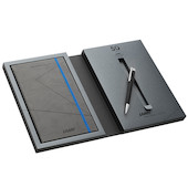Lamy logo M+ Ballpoint Pen and Notebook Set '50'