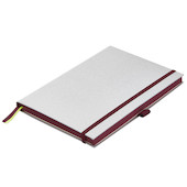 Lamy paper Notebook Hardcover A5 Black Purple Trim