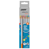 Lamy Colorplus Pencil Set of 6 Neon Assorted