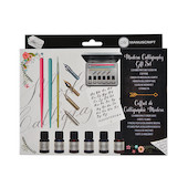 Manuscript Modern Calligraphy Gift Set with Brush