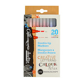 Manuscript Callicreative Duotip Marker Set of 20