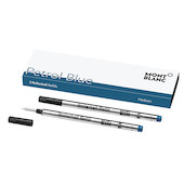 Montblanc Colour of The Year Rollerball Refill Set of 2 Medium Petrol Blue