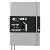 Monocle by Leuchtturm1917 Hardcover Notebook B5 Light Grey