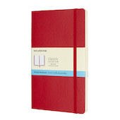 Moleskine Soft Cover Large Notebook 135x210 Red