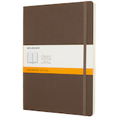 Moleskine Soft Cover Extra Large Notebook 190x250 Earth Brown